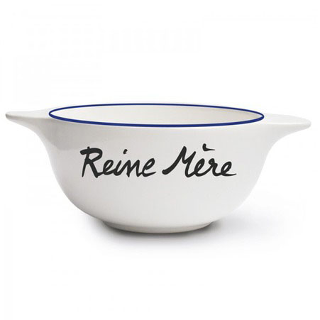 Reine Mere -- Queen Mother coffee bowl gift for mother's day