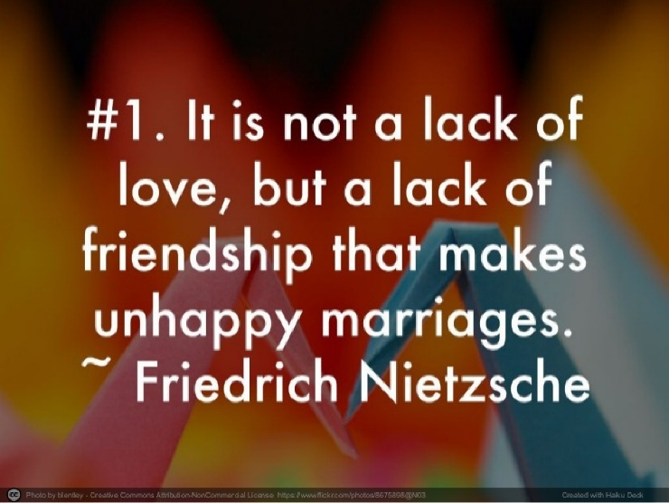 Nietzsche marriage quote