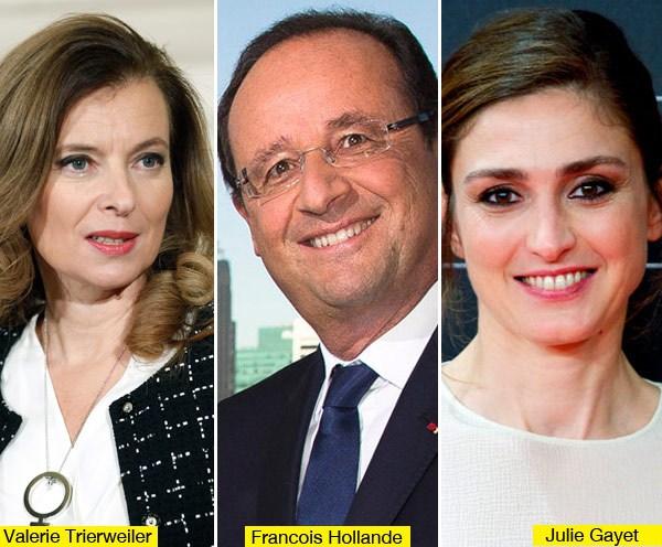 Hollande, Trierweiler, Gayet
