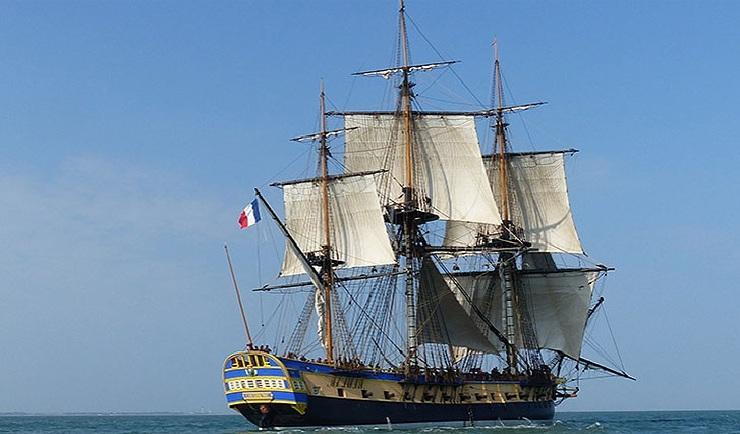 Lafayette's frigate