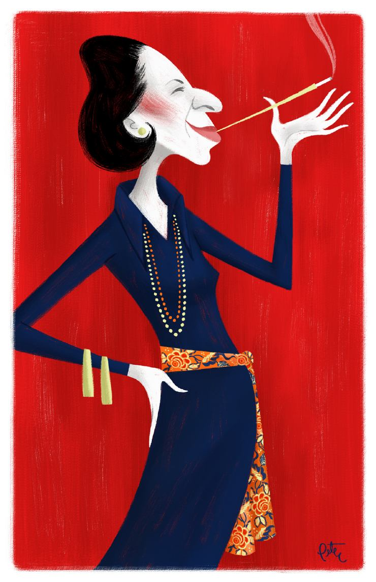 Vreeland illustration