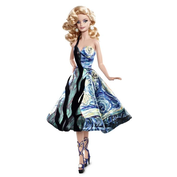 Van Gogh Barbie