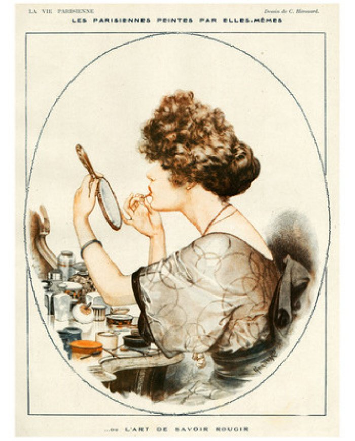 1919 lipstick print