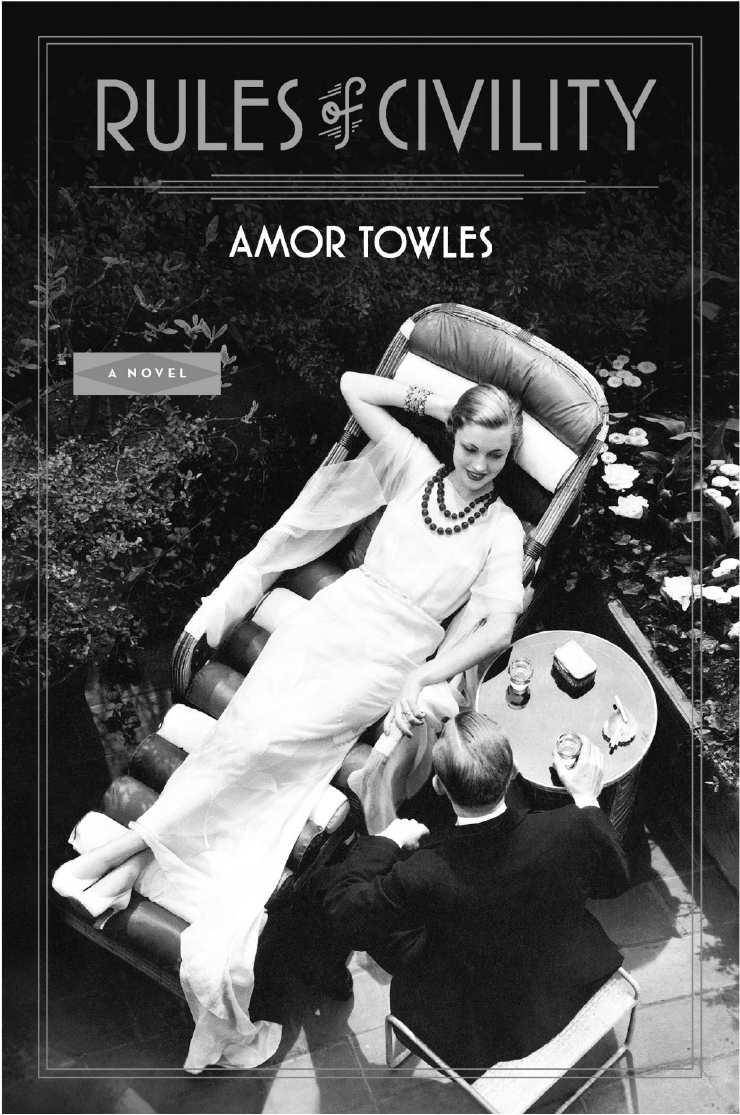 Amor Towles Civility