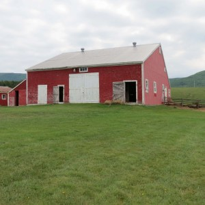 The barn at Chez Edmond