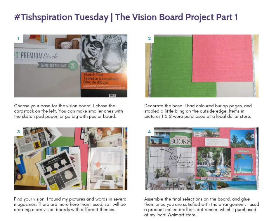 #Tishspiration Tuesday _ The Vision Board Project Part 1