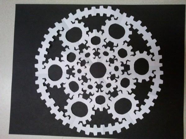 Steampunk Snowflake Tish Tosh Tesh