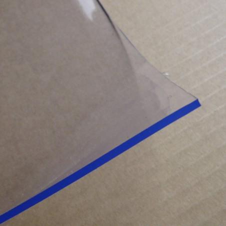 nappe plastique transparente 100 x 160 cm epaisseur 2 mm 200 100