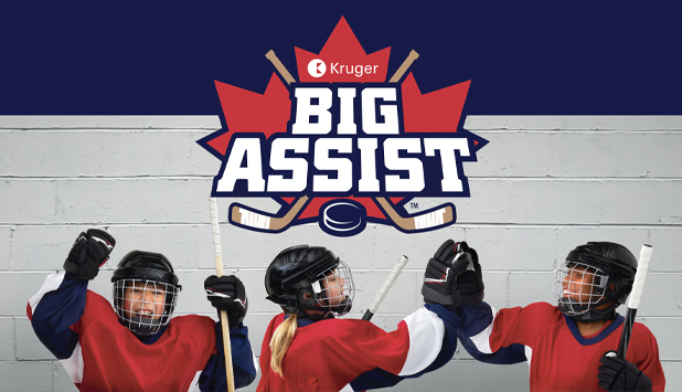 #KrugerBigAssist score with Canadian hockey, #KrugerBigAssist score with Canadian hockey