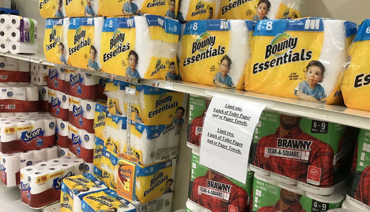 , Supermarkets are limiting tissue paper purchases again