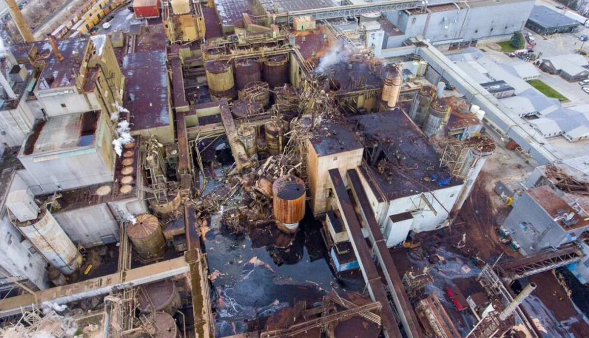 , Jay mill will not rebuild pulp mill and will permanently idle paper machine