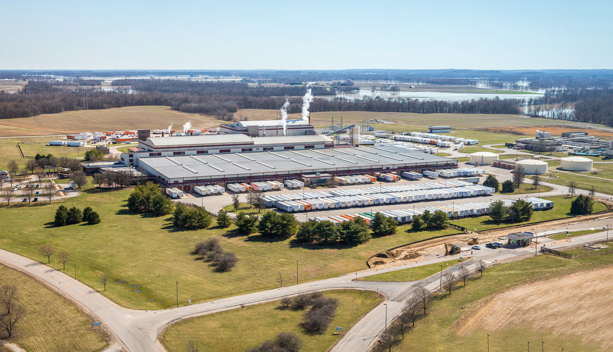 , Kimberly-Clark to complete steam production facility