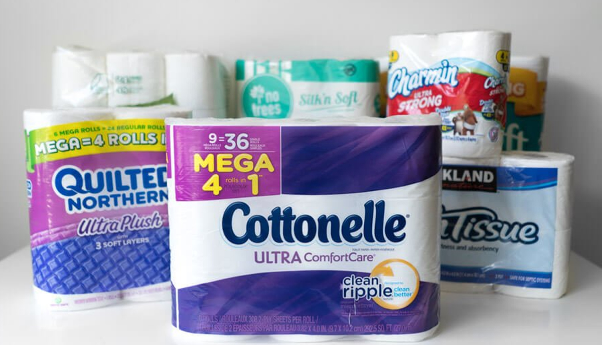 , New brands of toilet paper highlighted during the pandemic