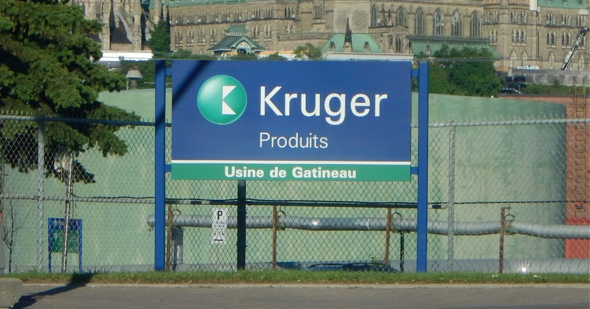 , Canada Invests in Energy Efficiency at Kruger Product's Gatineau Plant