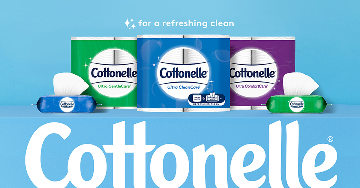 , Partnership between Cottonelle® and BLKHLTH®