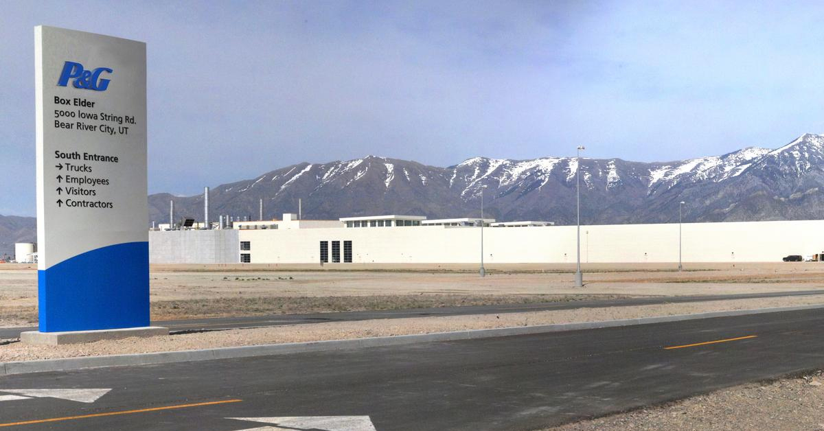 , P&G to expand manufacturing plant in Utah