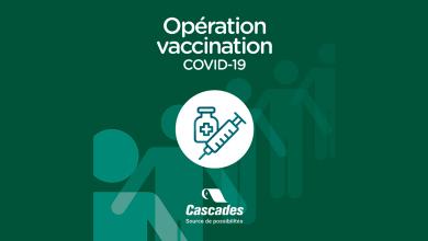 , Cascades to establish COVID-19 vaccination hub in Quebec