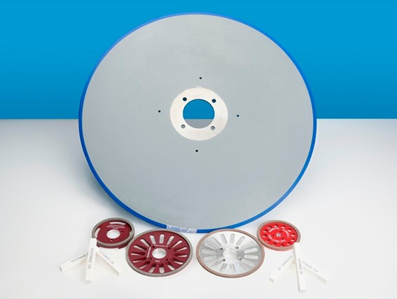 , Kinetic provides log saw blades for the tissue converting industry