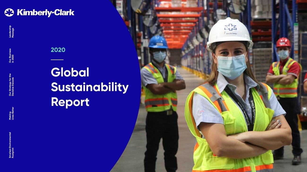 , Kimberly-Clark Reports Progress Toward Its 2030 Sustainability Ambitions