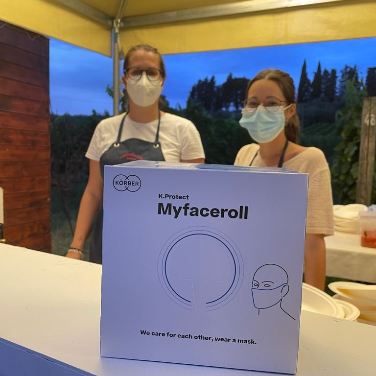 Körber donates bamboo fiber compostable masks to the cultural festival