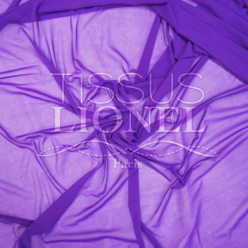 lycra résille fine violet