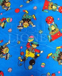 Carnaval clown bleu