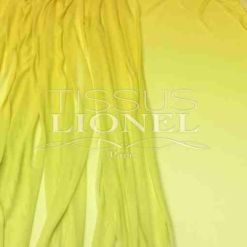 Resille degrade Bouton d'or Jaune citron