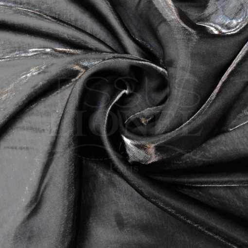Satin changeante noir