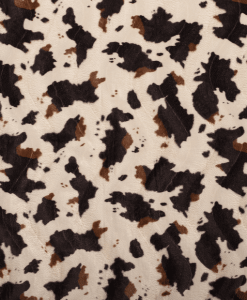 Fourrure velboa vache
