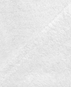 Tissu éponge bambou hydrophile blanc