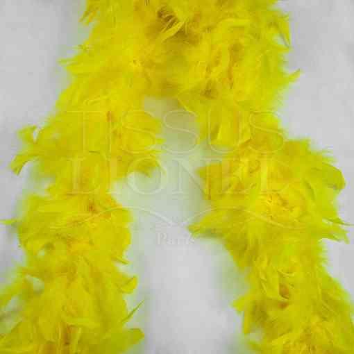 boa simple jaune