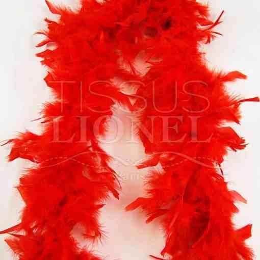 boa simple rouge