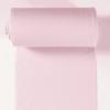 Bord côte jersey tubulaire rose clair