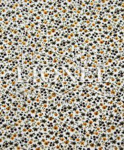 coton imprimé fleurs 013