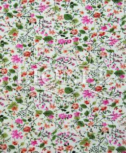 cotton floral print 016