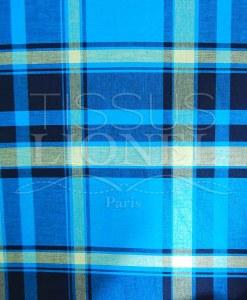 coton imprimé madras 013