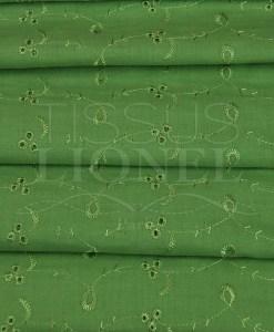 dentelle anglais vert