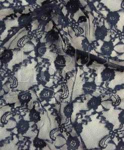 Lorie navy lace
