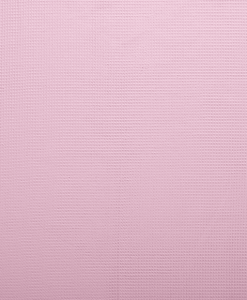 Tissu éponge nid d'abeilles rose clair