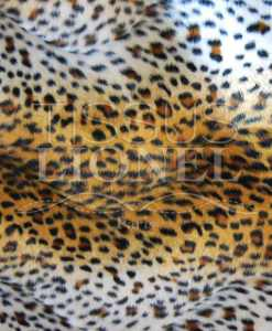 напечатанный мех velboas Savana