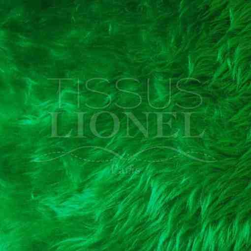 fourrure poil court vert