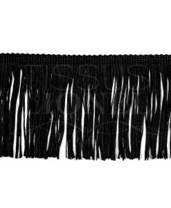frange 10 cm noir