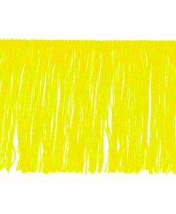 fringe 15 cm lemon yellow