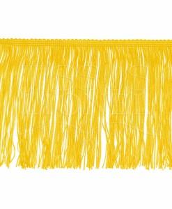 frange 15 cm jaune