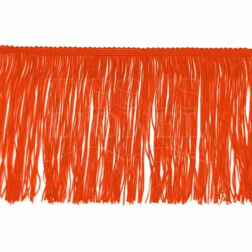 frange 15 cm orange