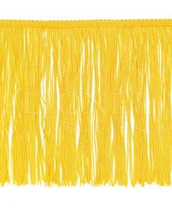 frange 20 cm jaune