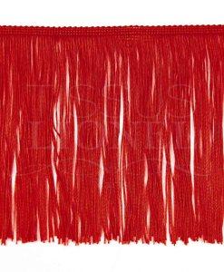 бахрома 20 см красный