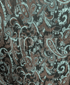 Jacquard-background-black-design-cashmere-turquoise-490x490