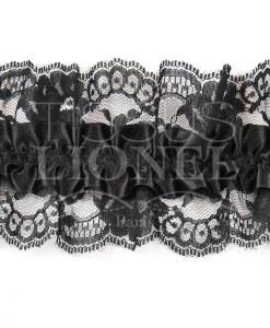 Jartelle black with black lace