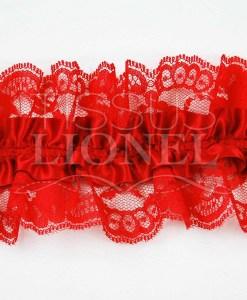 Jartelle красный с красным кружевом